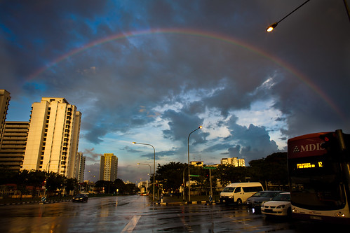 Rainbow, Singapore, 21st January 2012