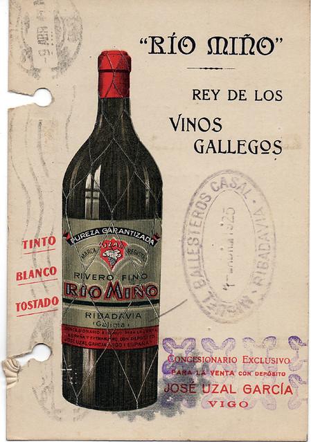 El rey de los vinos gallegos