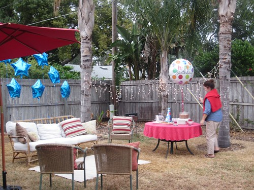 backyard birthday