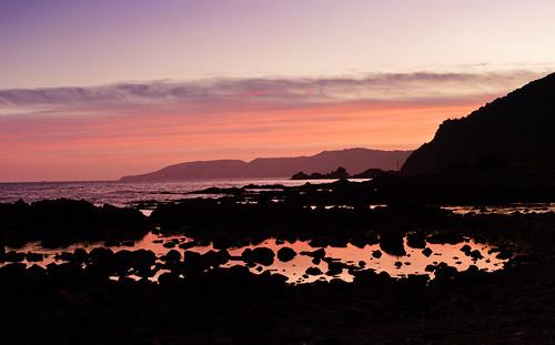 Sunset Along the New Zealand Coast by ZephyrSky1