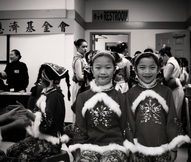 2012 Chinese New Year (niece on right and friend)
