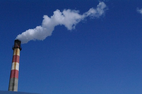 Harmful Gas Emissions from a Factory