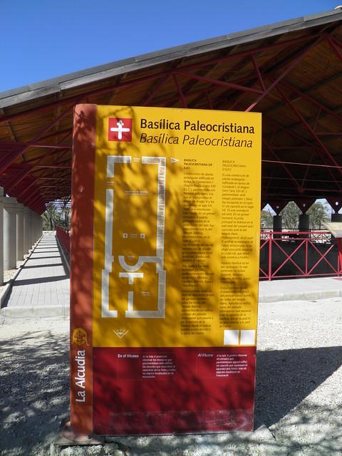 Basílica Cristiana (Christian Church), Ilici, the Alcudia archaeological site (Elche, Spain)