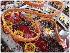Gigantic dragon at the atrium of Pavilion KL, to usher in the Lunar New Year 2012 #4/4