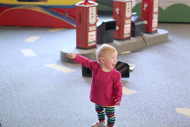 Lucy at the LaCrosse Children's Museum