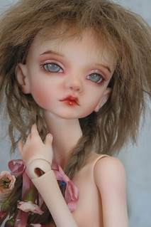 Doll Chateau Bella, Faceup & Body Blushing by Robbin Atwell