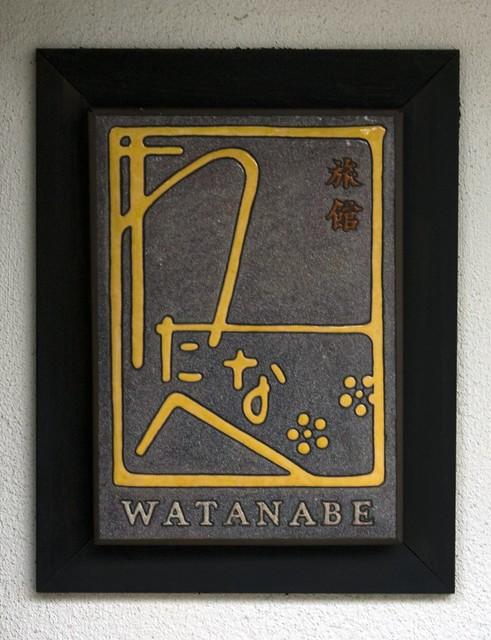 Watanabe Inn Sign