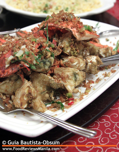 Legend Fried Crabs with Salt and Garlic 2