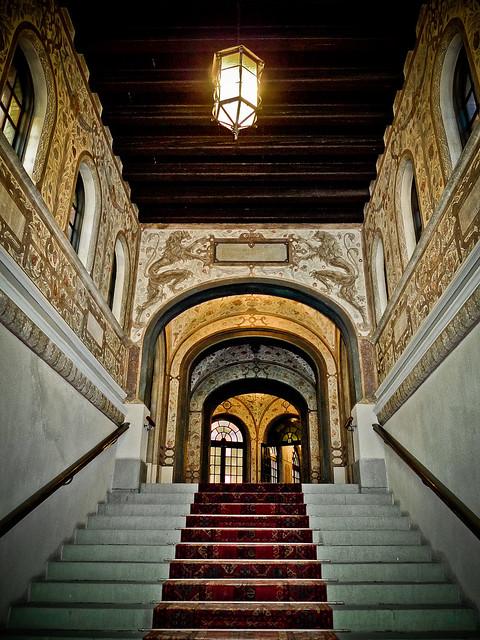 En trappuppgång