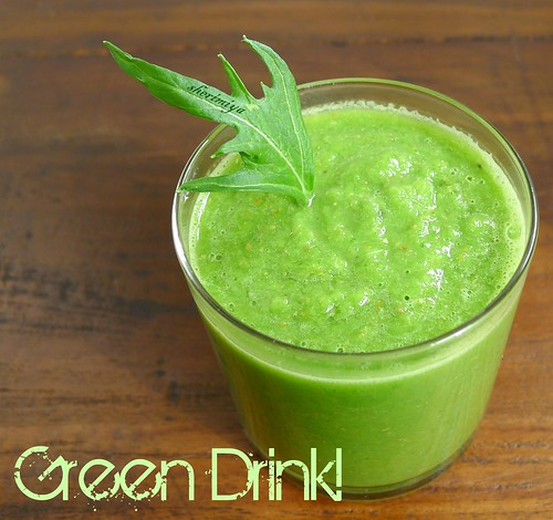 Green Drink by sherimiya ♥