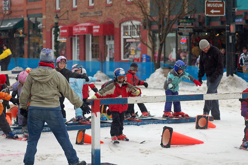 Libby Lukens in Steamboat's Winter Carnival