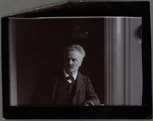 August Strindberg by Kungliga biblioteket