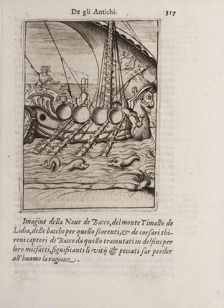 Imagine della Nave de Bacco...
