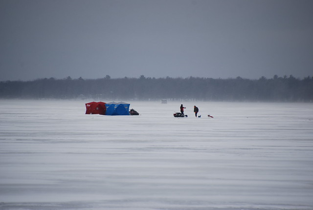 Photo for Ice fishing michigan