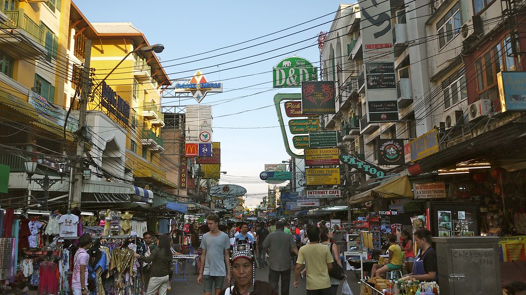 Khao San Road Tourist Ghetto