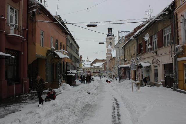 Calle de Uhzgorod nevada