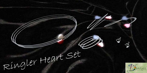 .:Dwyll Designs:. *Ringler Heart Set* (free) Promotion gift by Cherokeeh Asteria