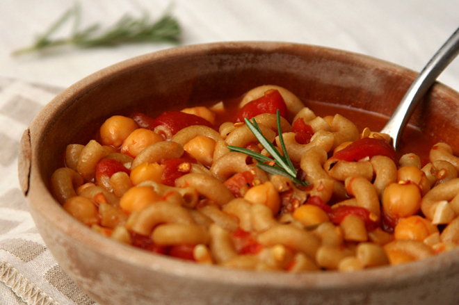 chickpea rosemary soup 6