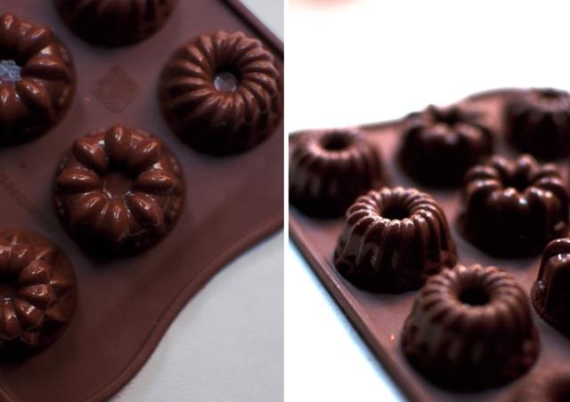 bombones de chocolate y café