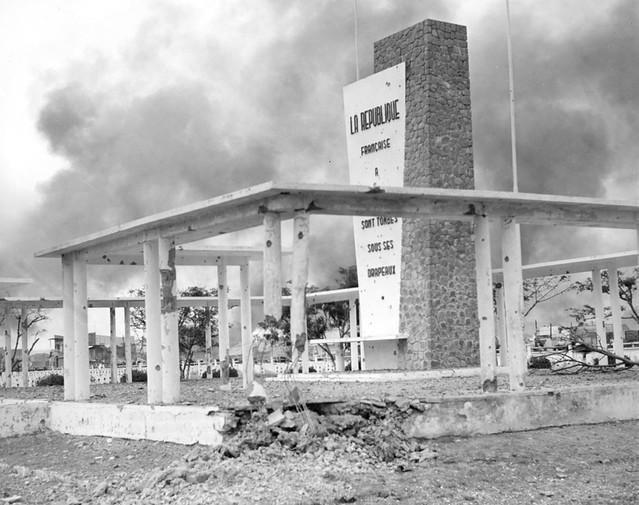 Nghĩa trang QĐ Pháp trong trận chiến Mậu Thân đợt 2, tháng 5/1968