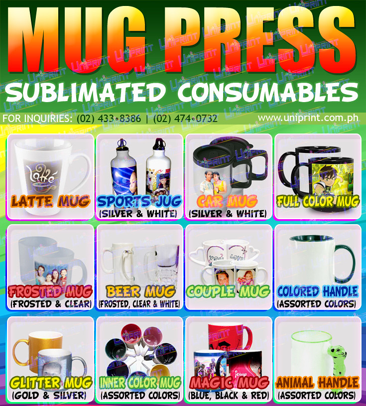 Mug Press Products