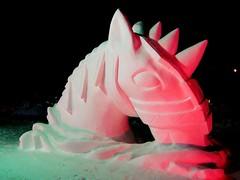 Snow Sculpture Competition