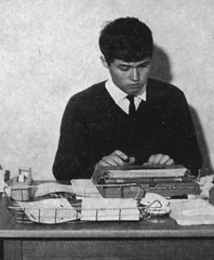 "Murray Street 120 John Barnet, former editor of ""The Bunyip"", ca.1960"