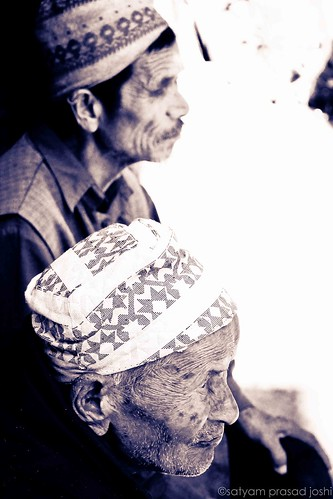 Elders Bhaktapur Nepal.jpg by satyamjoshi