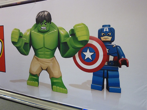 UK Toy Fair 2012 -  Super Heroes