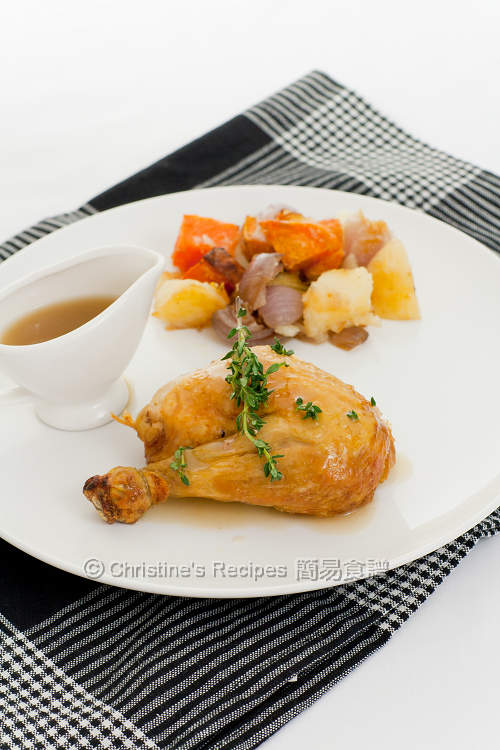 焗燒雞 Roast Chicken02