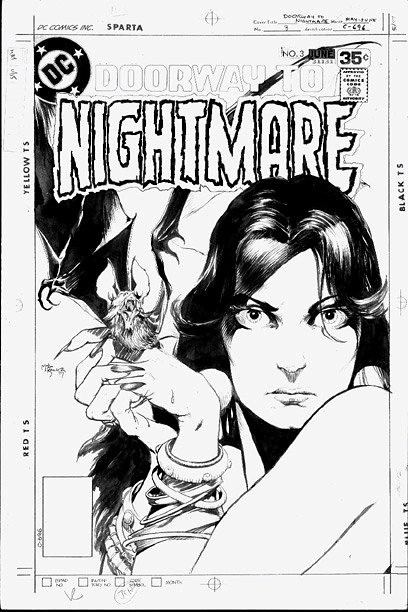 Doorway To Nightmare 3 original art by Michael Kaluta
