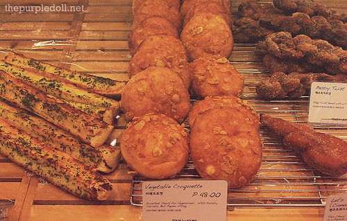 Choices of Breads at Tous Les Jours