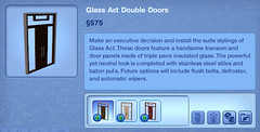Glass Act Double Doors