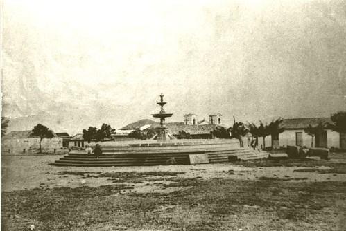 Fuente de los Leones-Plaza Principal Cartago-S XIX by Reyleomessi