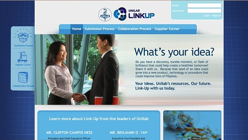 Unilab Link Up website