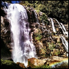 Waterfall number 1. #thailand #travel #waterfall