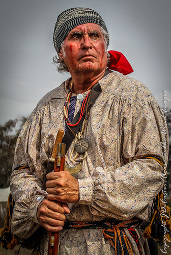 Seminole Warrior-4922 by Against The Wind Images