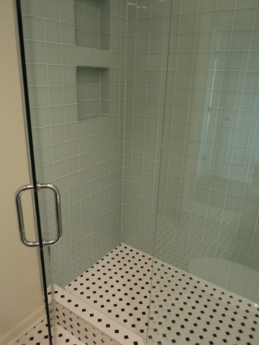 completed hall bath