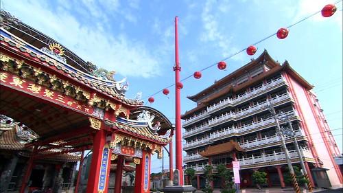 三寮灣東隆宮與東隆文化中心