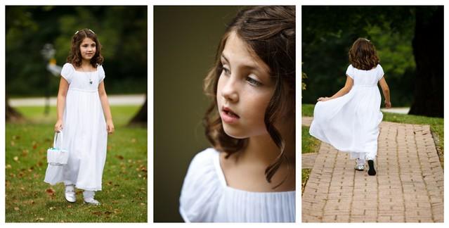 flower girl attire collage