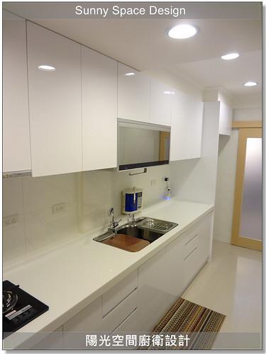廚具│廚房設計│廚具大王│新店三民路林小姐廚具-陽光空間廚衛設計