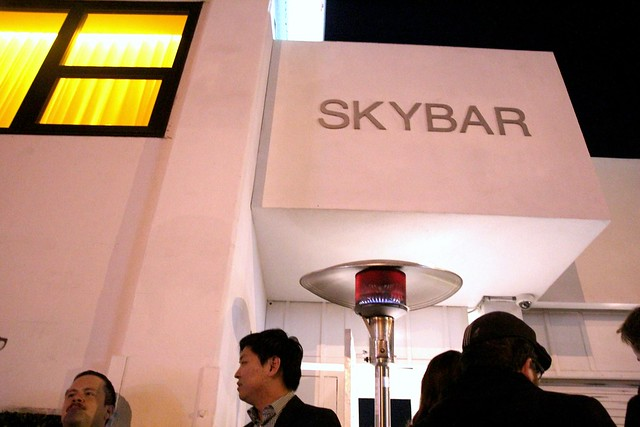 Blogger Barhop at SkyBar by Caroline on Crack