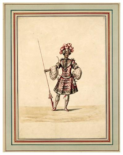 006-Carrousel des galans Maures de Grenade…1685- Jean Berain- INHA