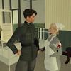 Berlin Blutmai 2016 - Ernst and Elisa in hospital