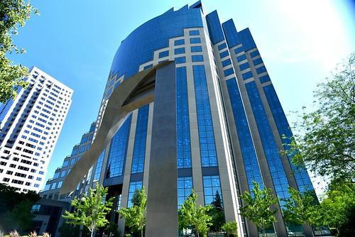 california blue reflection architecture nikon bluesky d750 reflective sacramento skyview