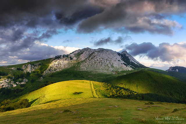 Anboto mountain in Basque Country