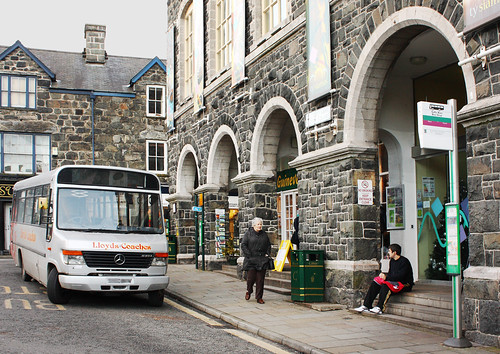 Waiting for the bus by Helen in Wales