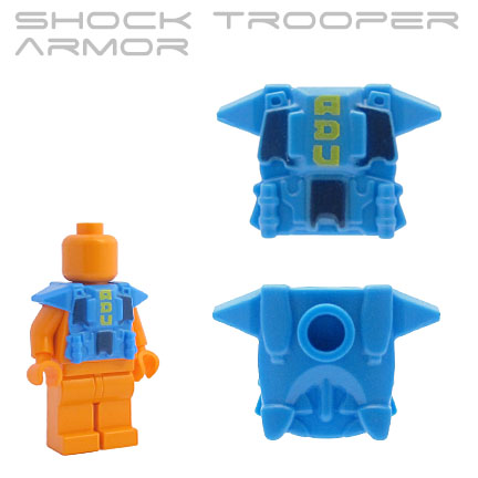 Shock Trooper Armor - Azure  (ADU print)
