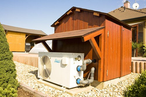 Heat Pump for swimming pools par Aqua-World Pools