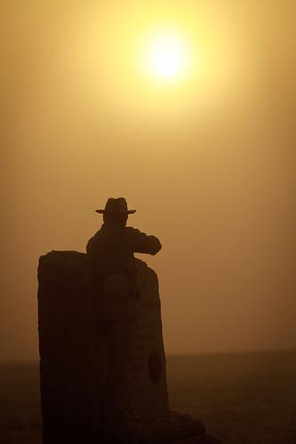 monument sunrise chickamaugapark